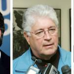 Beto Richa (42%); Roberto Requião (25%) e Gleisi Hoffmann (17%)