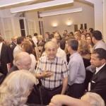Uma geral, em que aparecem: Gustavo Fruet, Airton Cordeiro, Rodolpho Doubek Filho, Carlos Harmath, Luiz Fernando Pereira e Rafael Pussoli