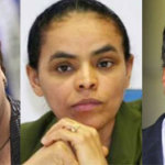 Dilma Rousseff, Marina Silva, Aécio Neves