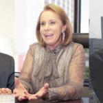 Judas Tadeu Grassi Mendes, Janete Vaz, Cezar Souza, consultor de empresas.