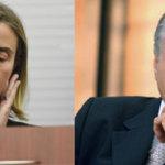Federica Mogherini, da UE; Michel Temer