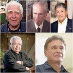 Saul Raiz, Ney Braga, Affonso Camargo Neto, Jaime Lerner, Álvaro Dias