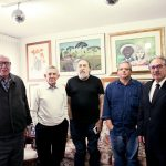 Aroldo (E), Euclides Scacco, Fábio Campana, Marcus Vinicius Gomes, José Lúcio Glomb
