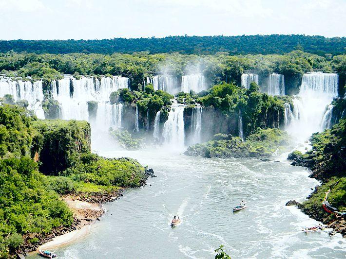 A beleza das Cataratas do Iguaçu (Foto: Site Viaje no Detalhe)