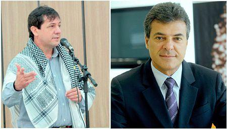 Chico Brasileiro e Beto Richa