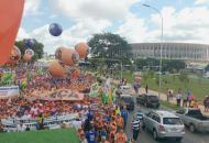 Lutas em Brasília