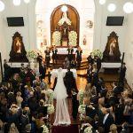 O casal no altar