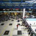 Aeroporto Afonso Pena: Setor de check-in