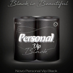 Papel higiênico Personal Black