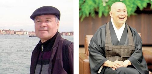 Jubal Sergio Dohms: estudioso curitibano; Monja Cohen: avalista da obra