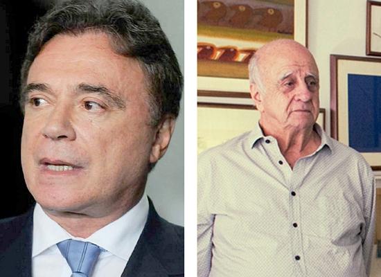 "Alvaro Dias: otimismo (Foto Marcelo Camargo/Folhapress); Edson Gradia: ""em solo fértil"" (Foto Annelize Tozetto)."