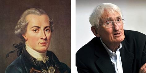 Immanuel Kant e Jürgen Habermas