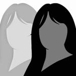 96-_perfil sem rosto 2 mulheres