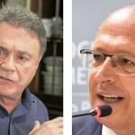Alvaro Dias e Alckmin: empatados