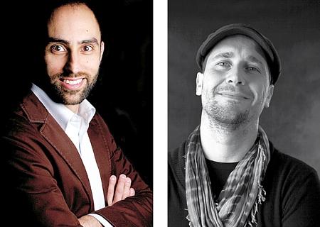 Zeh Henrique e Fabiano Cruz: no big evento mundial