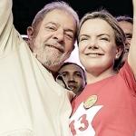 Gleisi e Lula: boa fé