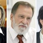 Cida, Osmar e Ratinho Junior: sorte lançada