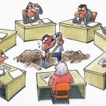 """Sobre o funcionalismo: """"A burocracia é um sistema gigantesco gerido por pigmeus."""" (Honoré de Balzac)"""