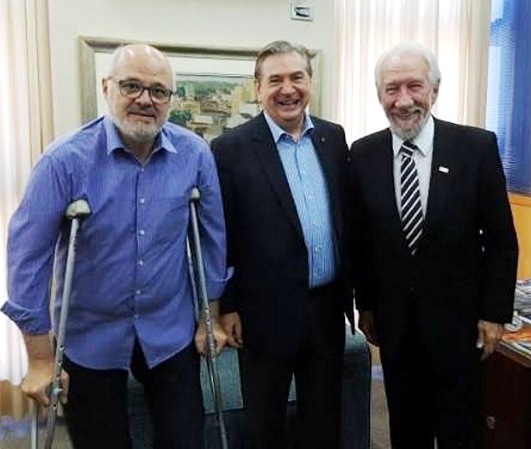 Nauiack, Walter Petruzzielo, e Darci Piana