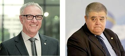 Luiz Campagnolo: não será vice; Ministro Carlos Marun: convite do PMDB