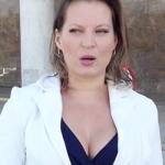 Joice Hasselmann: execrada em praça pública