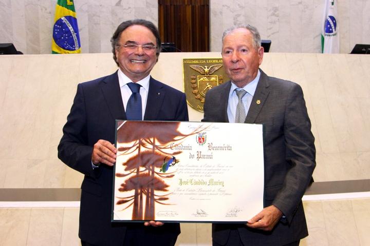 Prof. Avelino Hass - Presidente da Academia Paranaense de Medicina