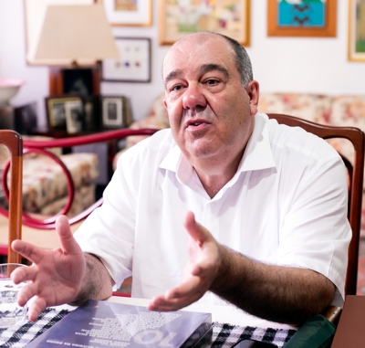Pedro de Paula Filho: sucesso empresarial e na exemplar filantropia (Foto: Annelize Tozzetto)